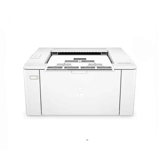 HP LaserJet Pro M102w Monochrome WiFi Laser Printer White