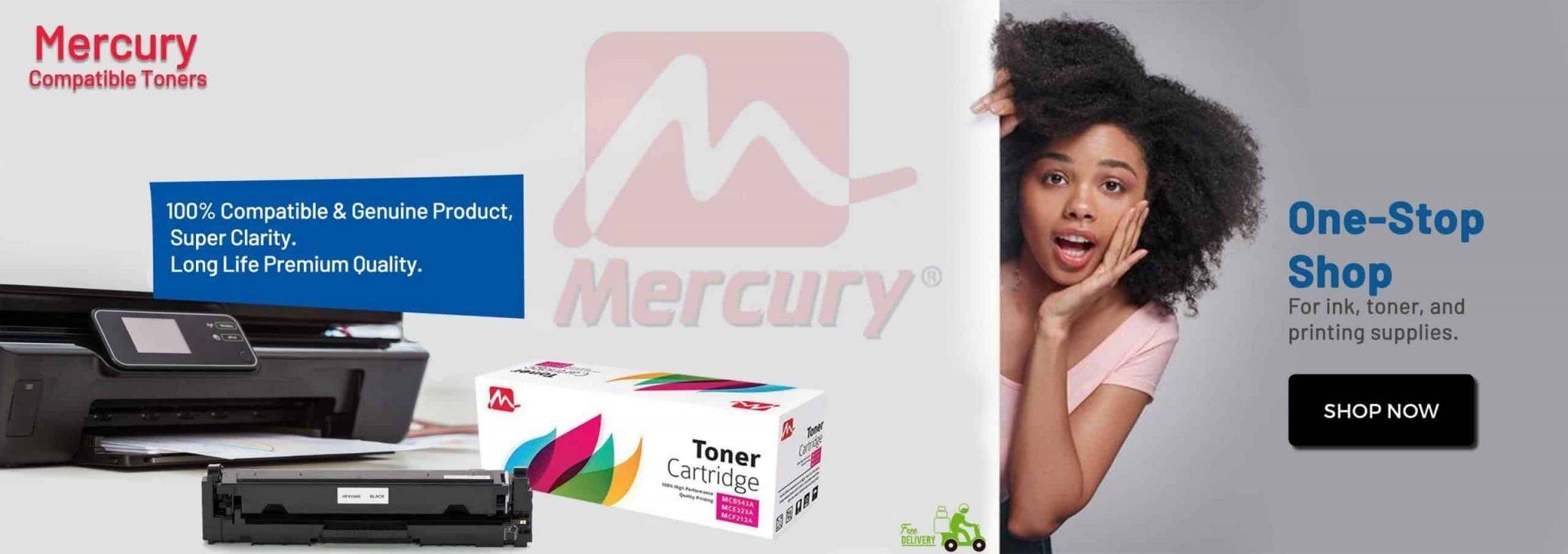 mercury compatible toners
