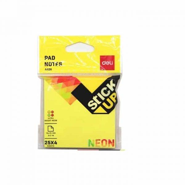 Deli A2016 Stickup Neon Notes