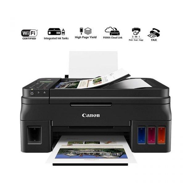 Canon PIXMA G4411 A4 Wi-Fi All-In-One (Print/Scan/Copy/Fax) - Black