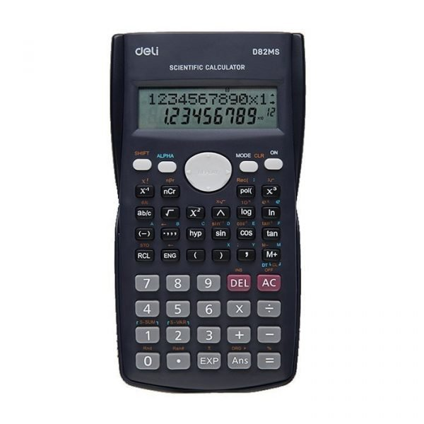 Deli scientific calculator