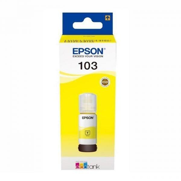 Epson 103 Yellow Ink Bottle